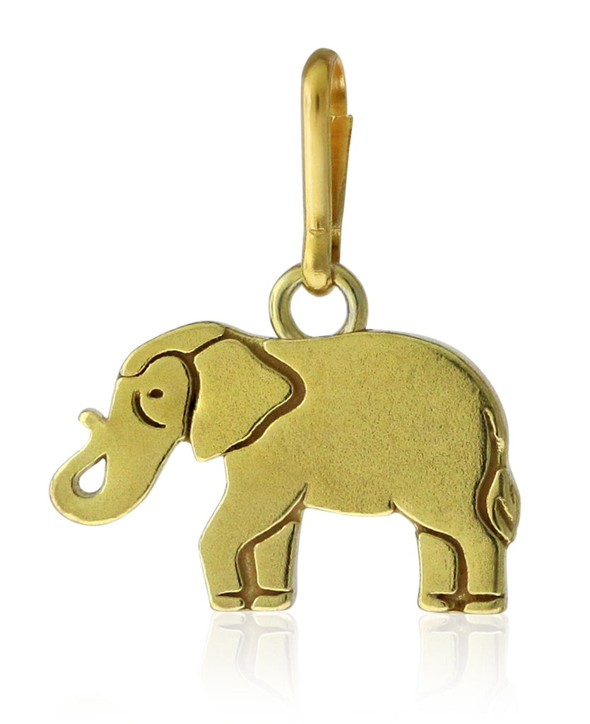 Alex And Ani Elephant Charm - 14KT Gold Plated -