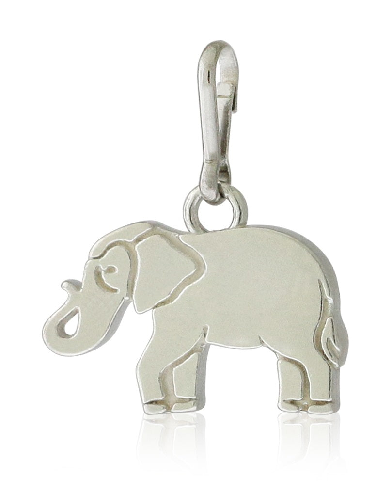 Alex And Ani Elephant Charm - Sterling Silver -