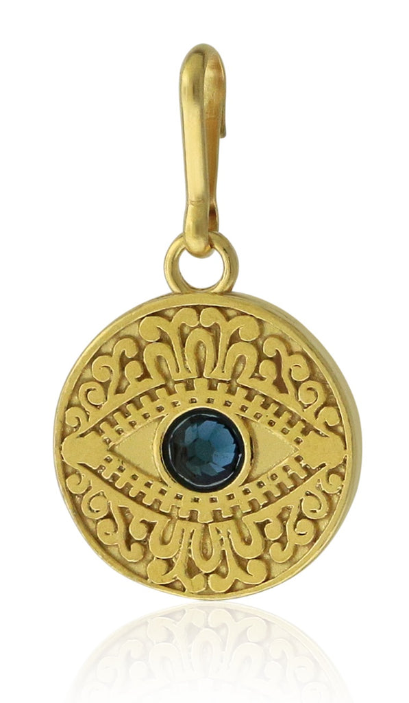 Alex And Ani Evil Eye Charm - 14kt Gold Plated -