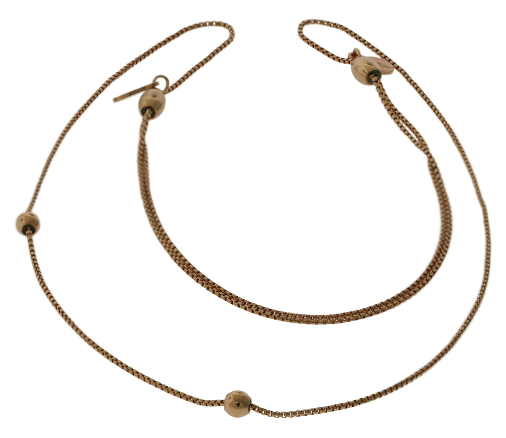 Alex And Ani 24 in. Expandable Chain Starter Necklace - 14KT Rose Gold Plated -