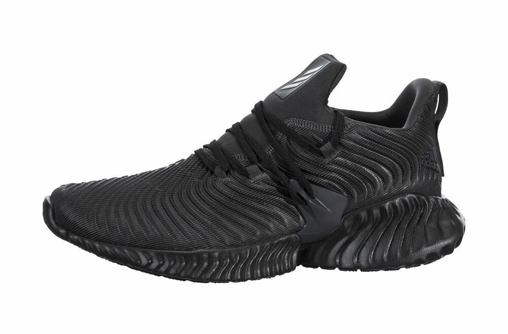 Adidas Alphabounce Instinct  Mens Running Shoes - Carbon/Core Black/Carbon - Size 11