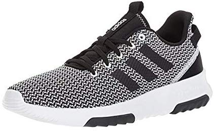 adidas Mens Cloudfoam Racer TR Running Shoes - black/Black/White - Size: 9