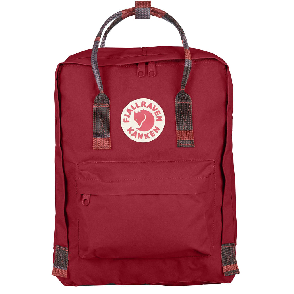 Fjallraven - Kanken Classic Backpack for Everyday - Deep Red-Random Blocked