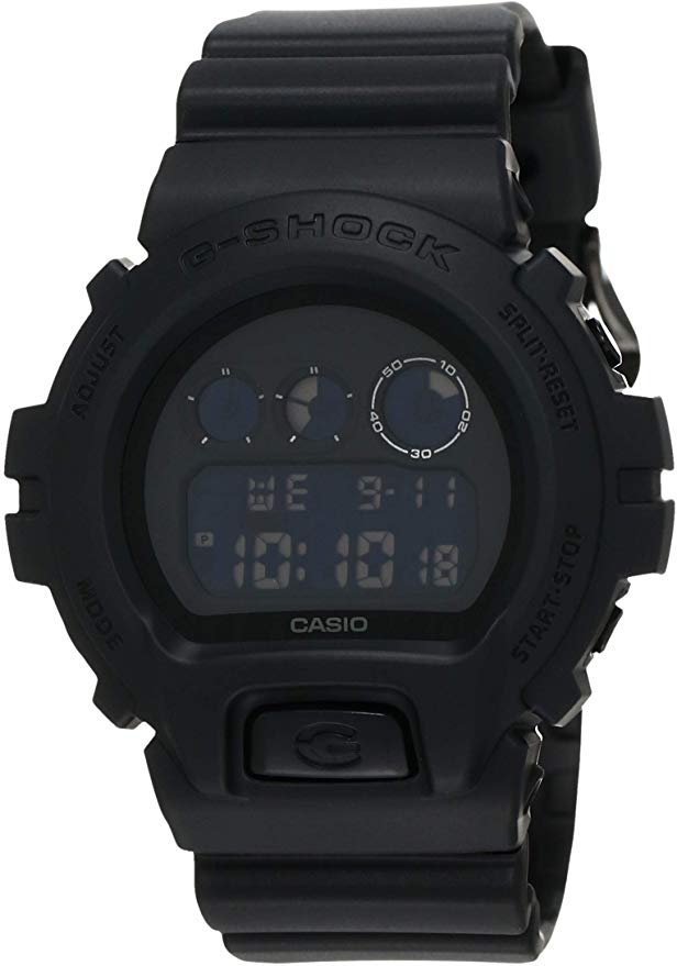 Casio G-Shock Black Out Basic Series Resin Mens Watch -