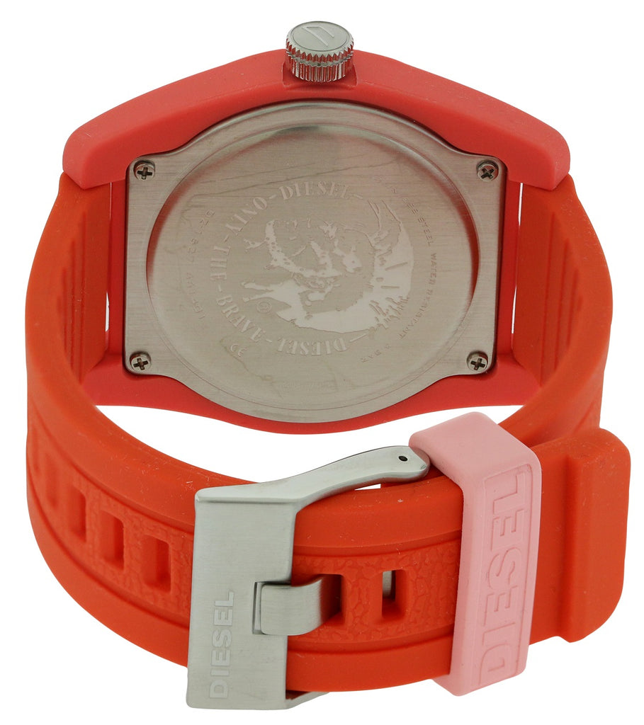 Diesel Rubber Company Silicone Mens Watch