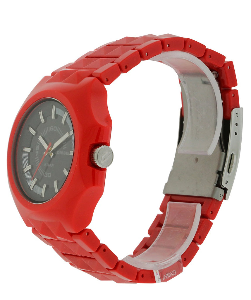 Diesel Faceted Plastic Stud Mens watch