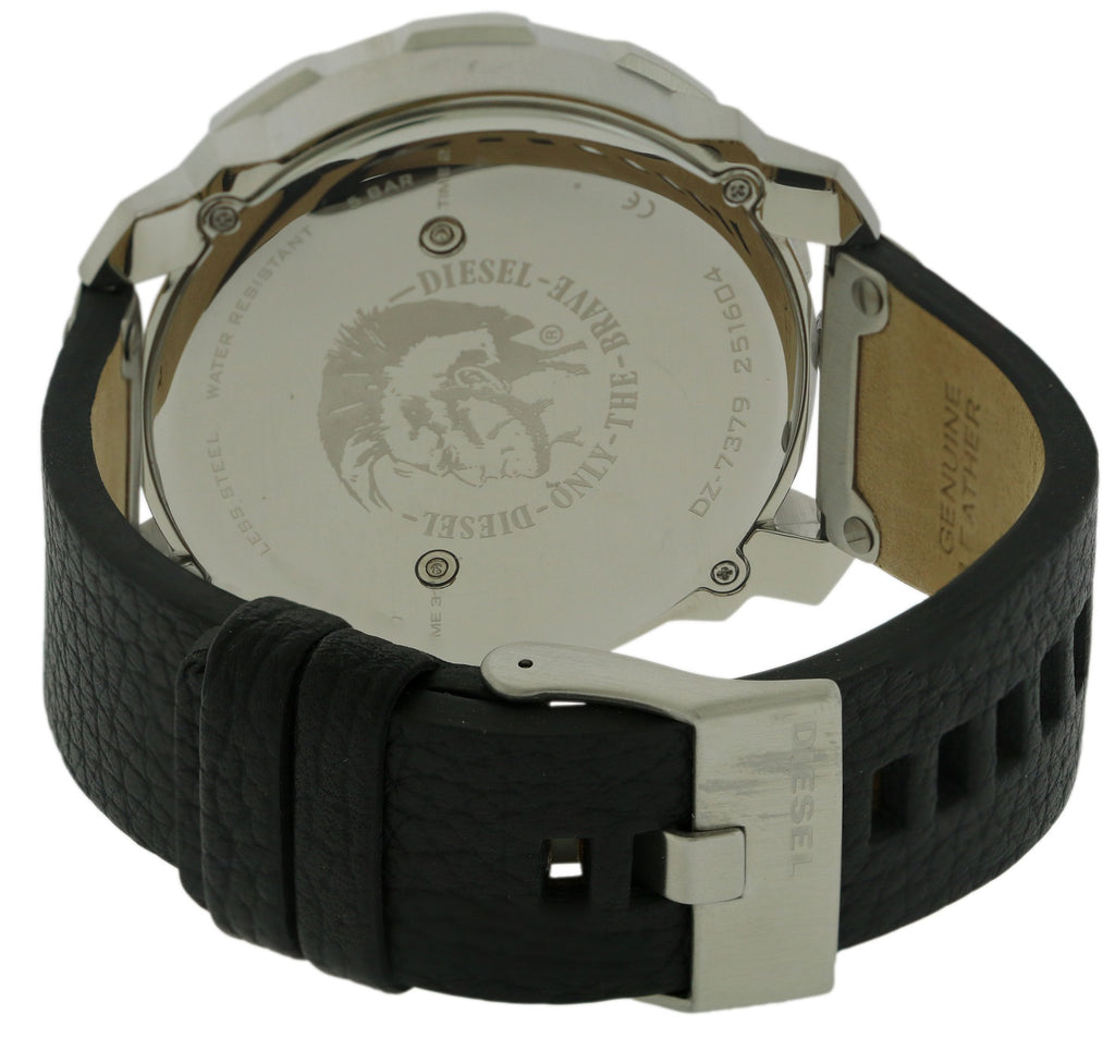 Diesel Machinus Leather Mens Watch