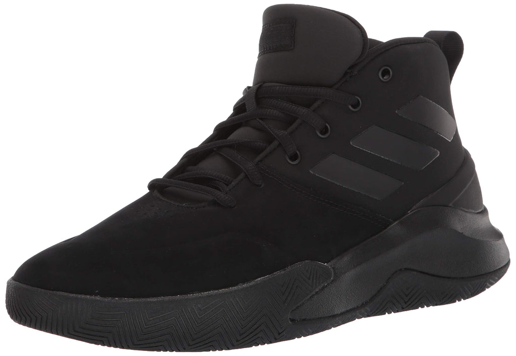 adidas Mens OwnTheGame Basketball Shoe - Black - 10