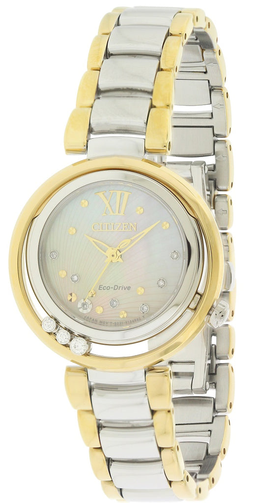 Citizen Eco-Drive Two-Tone Diamond Ladies Watch