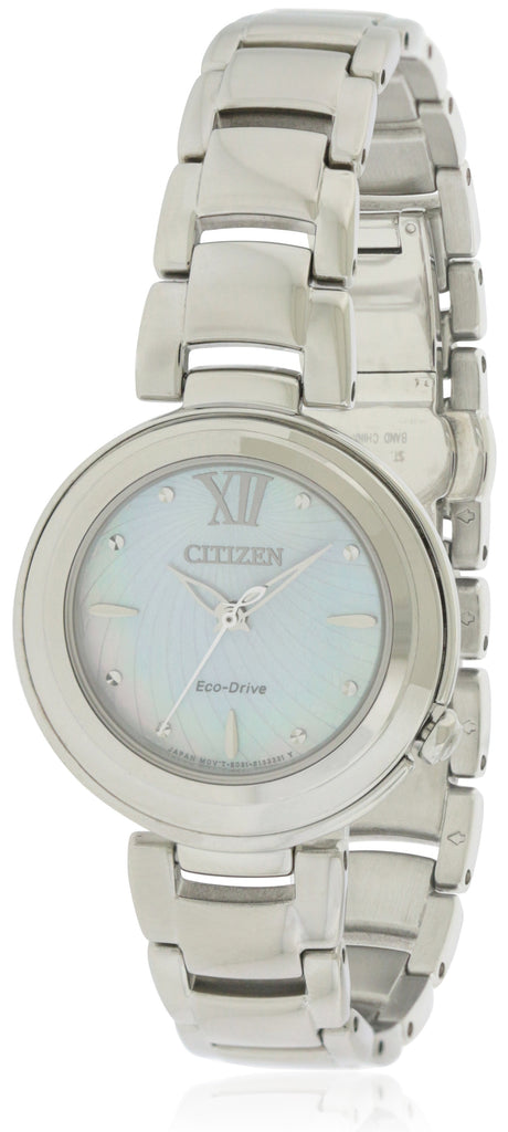 Citizen Eco-Drive Sunrise Stainless Steel Ladies Watch