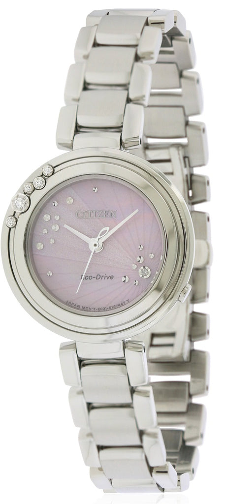 Citizen Eco-Drive L Carina Stainless Steel Ladies Watch