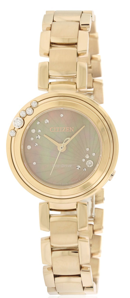 Citizen Eco-Drive L Carina Rose Gold-Tone Ladies Watch