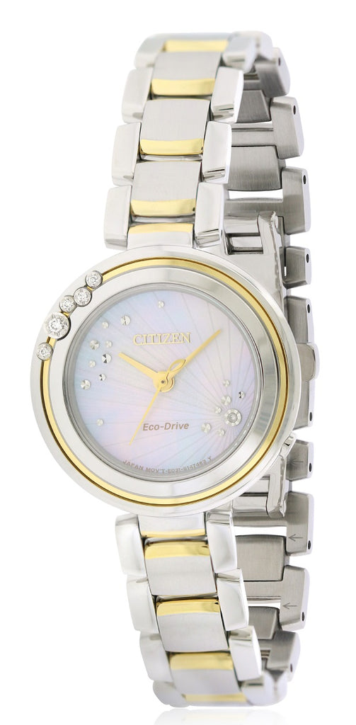 Citizen Eco-Drive L Carina Two-Tone Ladies Watch