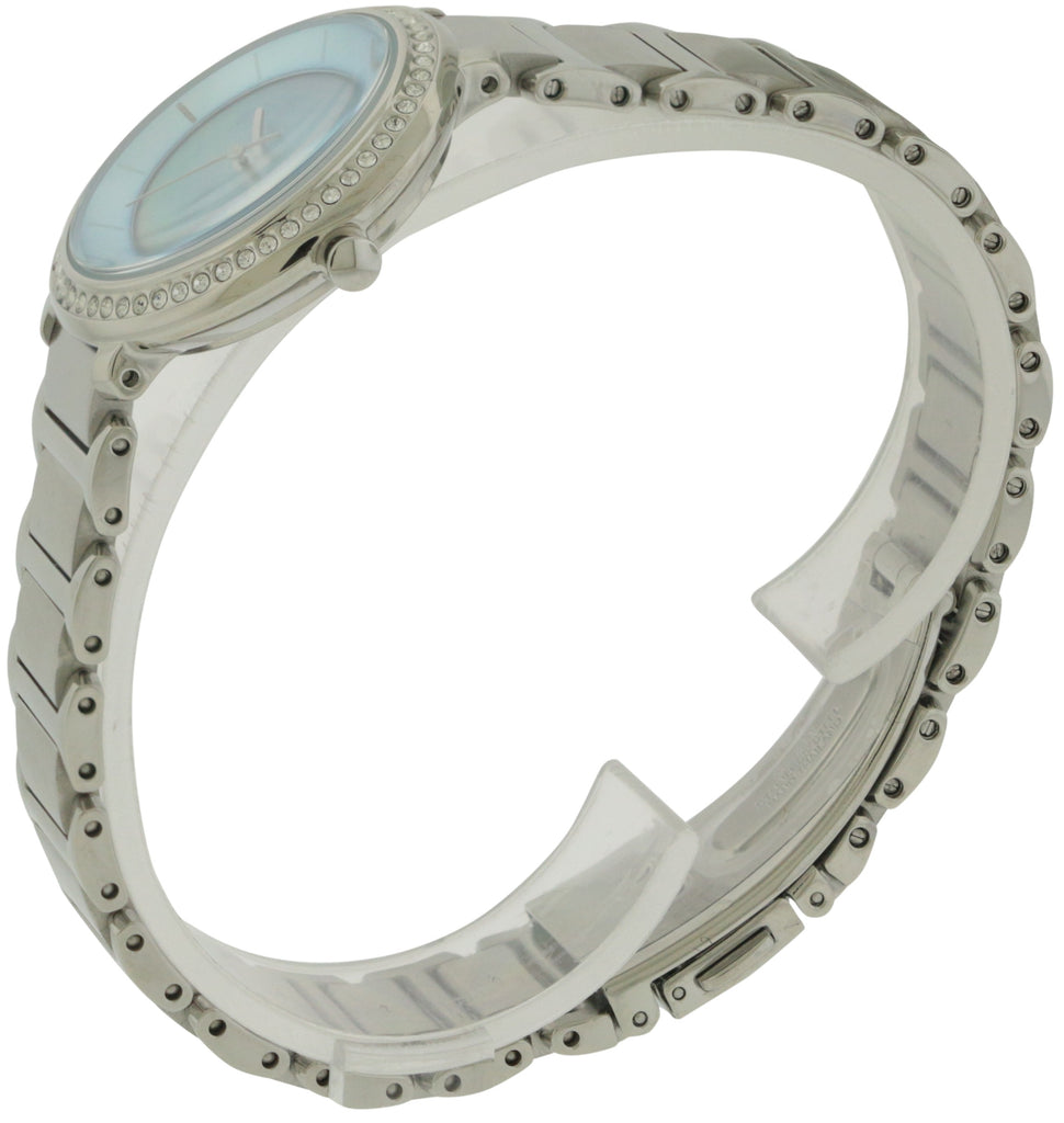 Citizen Eco-Drive Silhouette Stainless Steel Ladies Watch