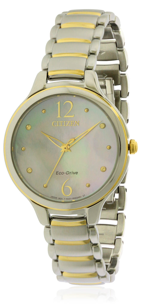 Citizen Eco-Drive L Two-Tone Ladies Watch