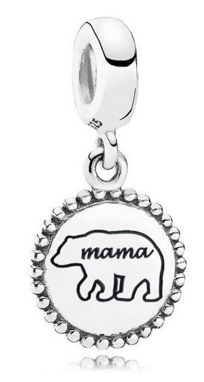PANDORA Mama Bear Dangle Charm -