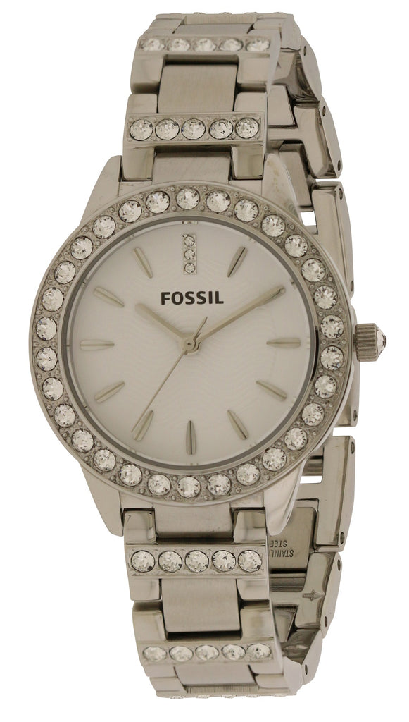 Fossil Crystal Steel Ladies Watch
