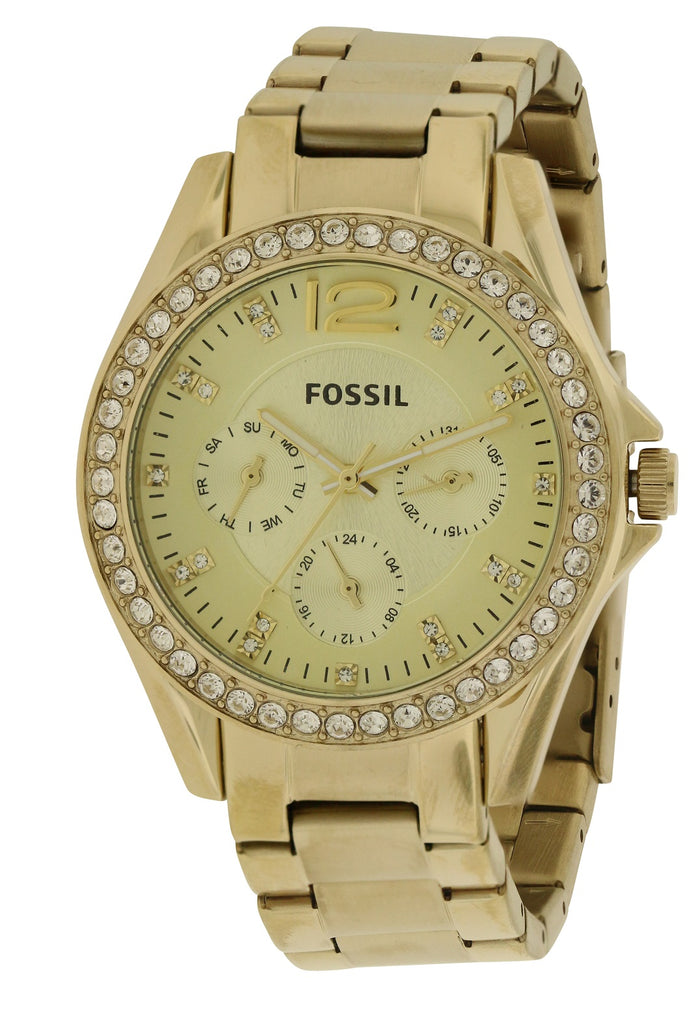 Fossil Riley Gold-Tone Ladies Watch