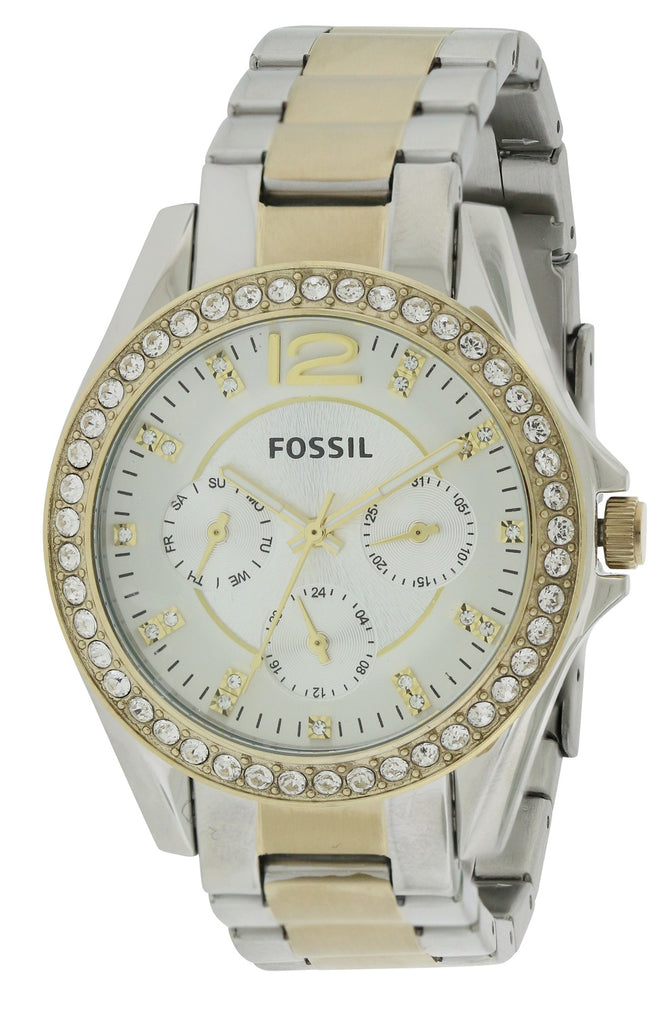 Fossil Riley Two-Tone Ladies Watch