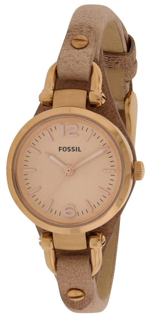 Fossil Georgia Mini Sand Leather Ladies Watch
