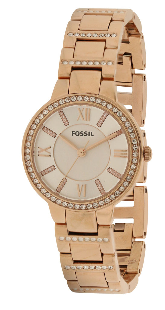 Fossil Virginia Rose Gold-Tone Ladies Watch