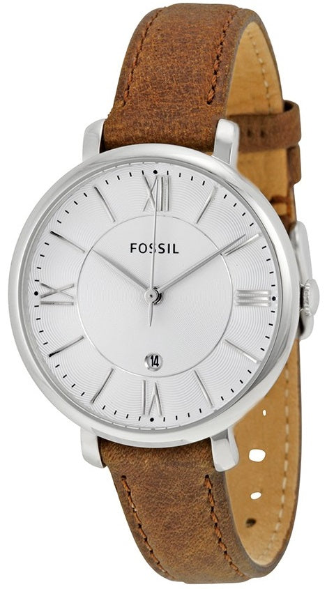 Fossil Jacqueline Leather Ladies Watch