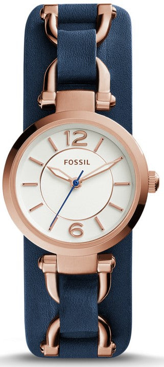 Fossil (Open Box) Georgia Artisan Ladies Watch ES3857