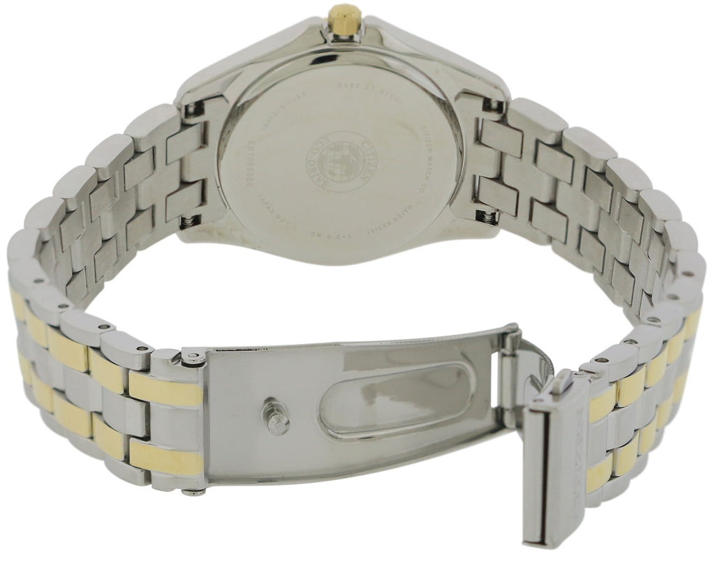 Citizen Eco-Drive Silhouette Two-Tone Crystal Ladies Watch