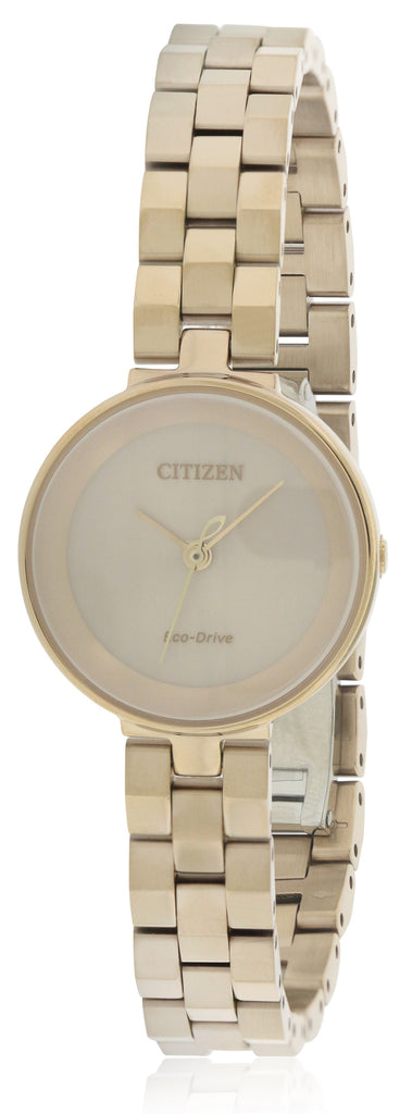 Citizen Eco-Drive Silhouette Rose Gold-Tone Ladies Watch