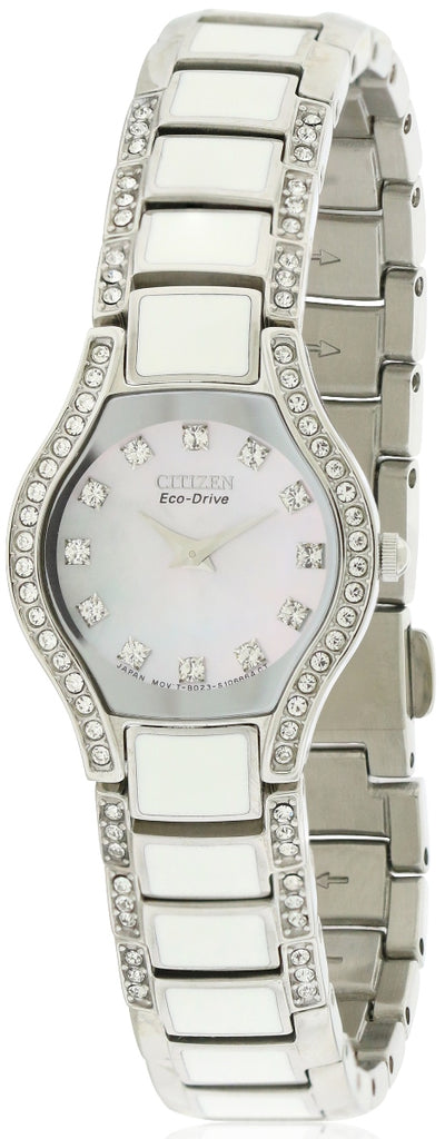 Citizen Eco Drive Normandie Crystal   Ladies Watch