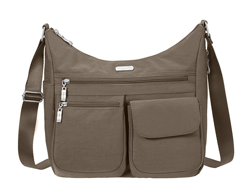 Baggallini Everywhere Crossbody Travel Bag - Portobello -
