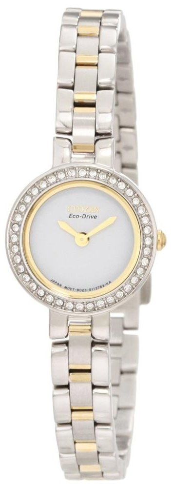 Citizen Eco-Drive Silhouette Crystal Ladies Watch EX1084-55A
