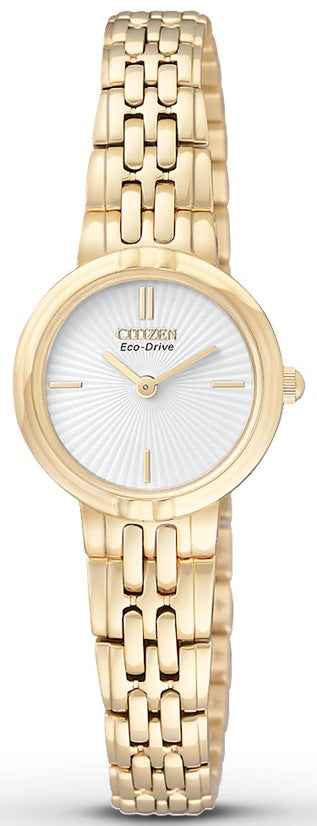 Citizen Eco-Drive Silhouette Gold-Tone  Ladies Watch EX1092-57A