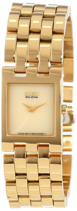 Citizen Eco-Drive JolieGold-Tone  Ladies Watch EX1302-56P