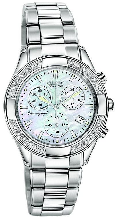 Citizen Eco-Drive Regent Chronograph Ladies Watch FB1220-53D