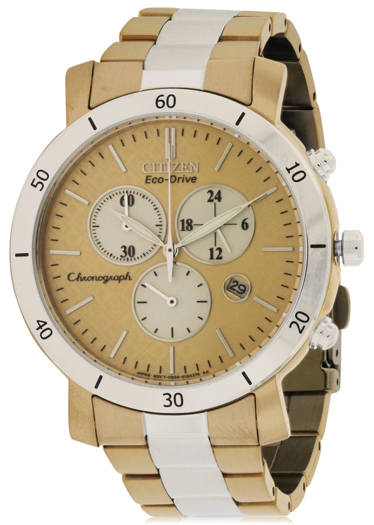 Citizen DRIVE AML 3.0 Chronograph Two-tone Ladies Watch