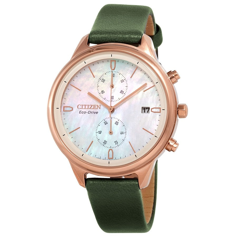 Citizen Eco-Drive Chandler Chronograph Ladies Watch FB2008-01