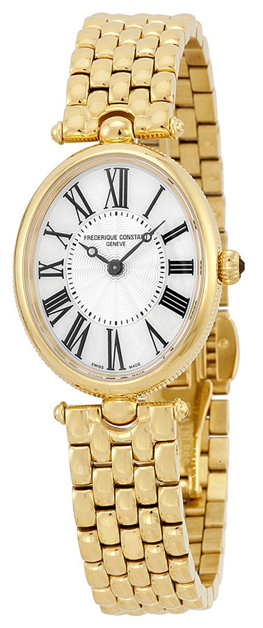 Frederique Constant Art Deco Gold-Tone Stainless Steel Ladies Watch