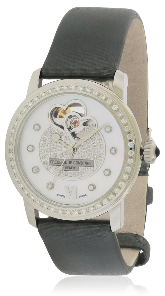 Frederique Constant Double Heart Beat  Ladies Watch