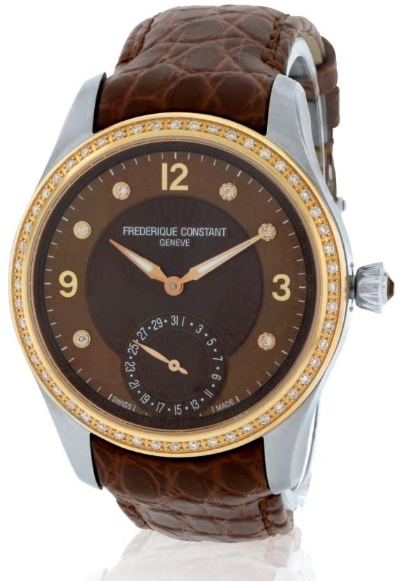 Frederique Constant Stainless Steel Ladies Watch