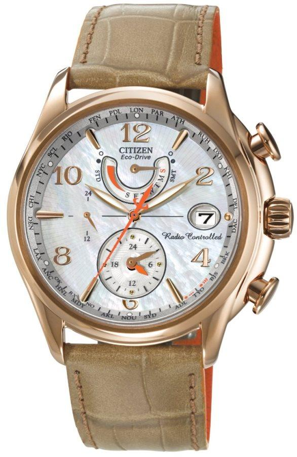 Citizen Eco-Drive World Time AT Radio Ladies Watch FC0003-18D
