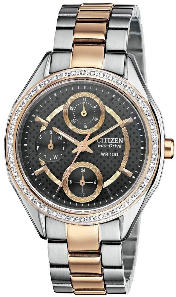 Citizen Eco-Drive POV 2.0 Two-Tone Ladies Watch FD1066-59H