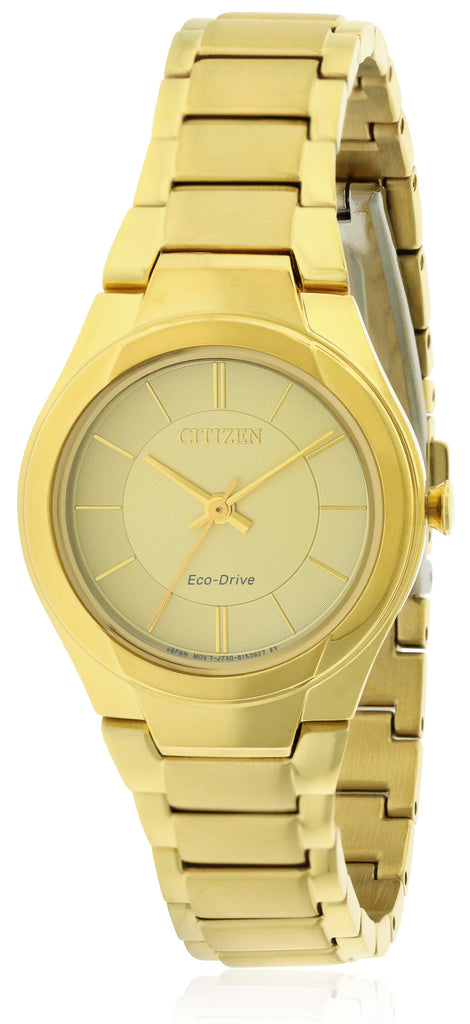 Citizen Eco-Drive Paradigm Gold-Tone Ladies Watch