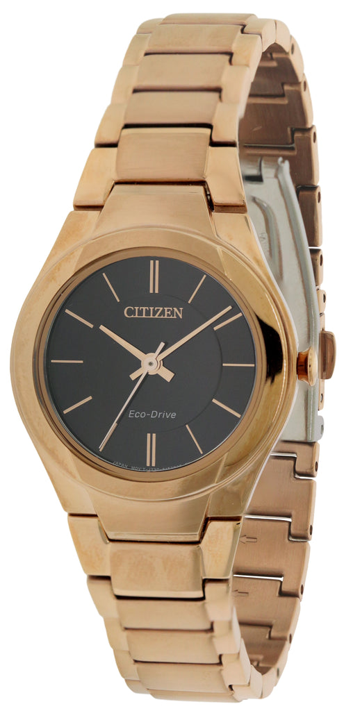 Citizen Eco-Drive Paradigm Rose Gold-Tone Ladies Watch