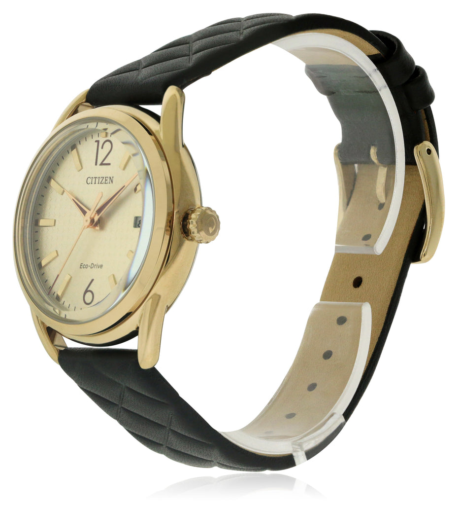 Citizen Drive Leather Ladies Watch
