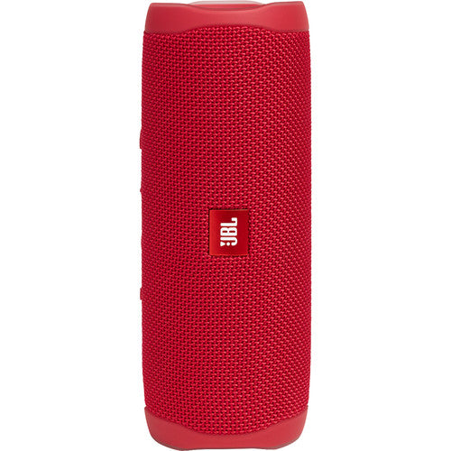 JBL Flip 5 Waterproof Bluetooth Speaker - Red