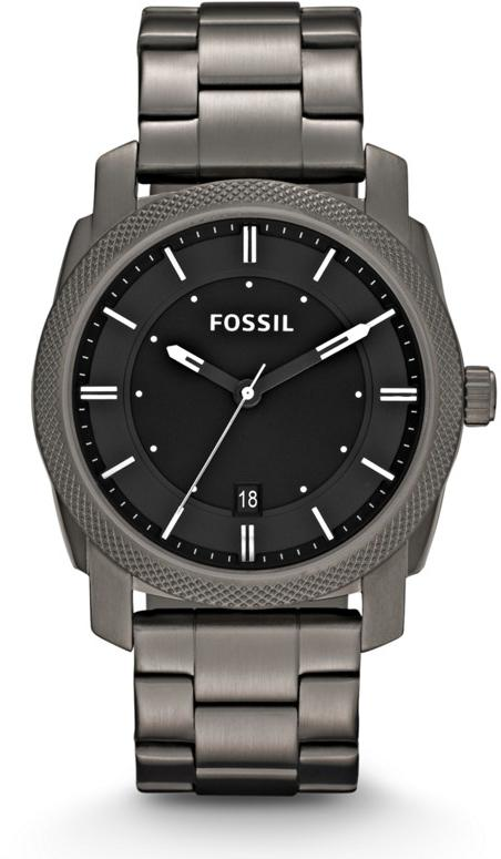 Fossil Machine Gunmetal Mens Watch