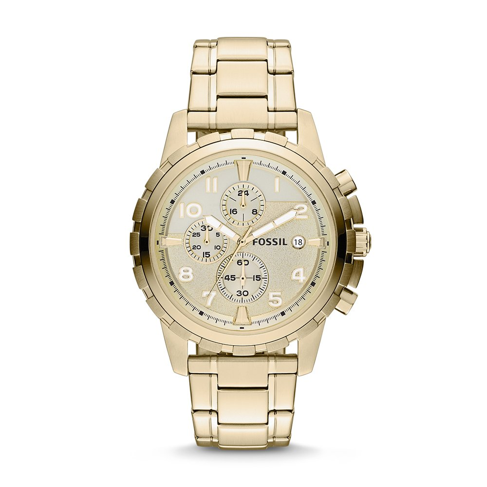 Fossil Dean Stainless Steel Chronograph Mens Watch