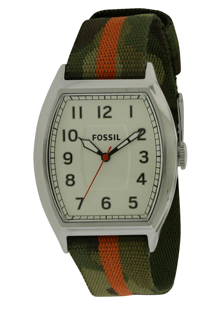 Fossil Narrator Nylon Mens Watch