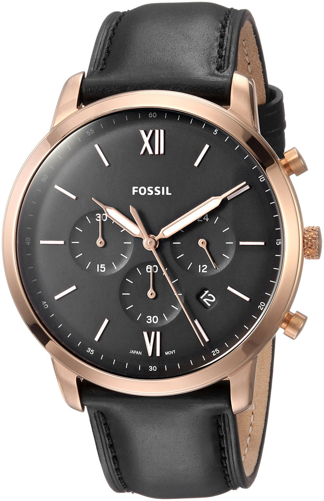 Fossil Neutra Leather Chronograph Mens Watch